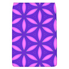 Pattern Texture Backgrounds Purple Removable Flap Cover (l) by HermanTelo