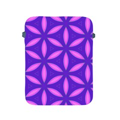 Pattern Texture Backgrounds Purple Apple iPad 2/3/4 Protective Soft Cases