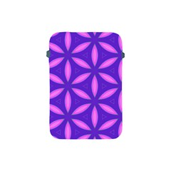 Pattern Texture Backgrounds Purple Apple iPad Mini Protective Soft Cases