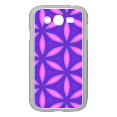 Pattern Texture Backgrounds Purple Samsung Galaxy Grand DUOS I9082 Case (White)