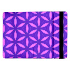 Pattern Texture Backgrounds Purple Samsung Galaxy Tab Pro 12.2  Flip Case