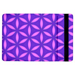 Pattern Texture Backgrounds Purple iPad Air Flip