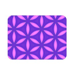 Pattern Texture Backgrounds Purple Double Sided Flano Blanket (Mini)