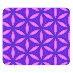 Pattern Texture Backgrounds Purple Double Sided Flano Blanket (Small)