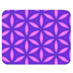 Pattern Texture Backgrounds Purple Double Sided Flano Blanket (Medium)