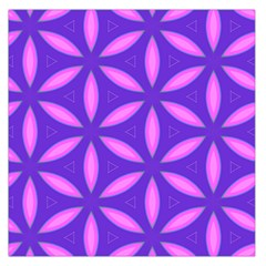 Pattern Texture Backgrounds Purple Large Satin Scarf (Square)