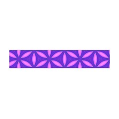 Pattern Texture Backgrounds Purple Flano Scarf (Mini)