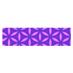 Pattern Texture Backgrounds Purple Satin Scarf (Oblong)