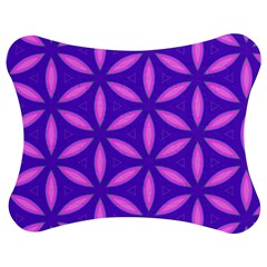 Pattern Texture Backgrounds Purple Jigsaw Puzzle Photo Stand (Bow)