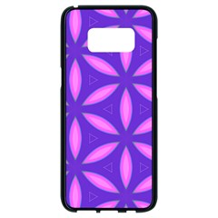 Pattern Texture Backgrounds Purple Samsung Galaxy S8 Black Seamless Case