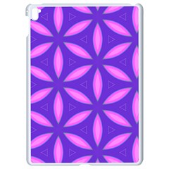 Pattern Texture Backgrounds Purple Apple iPad Pro 9.7   White Seamless Case