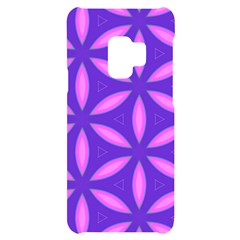 Pattern Texture Backgrounds Purple Samsung S9 Black Uv Print Case by HermanTelo