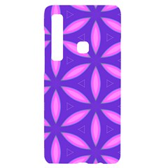 Pattern Texture Backgrounds Purple Samsung A9 Black UV Print Case