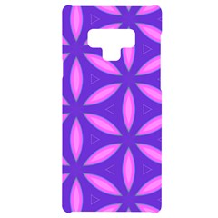 Pattern Texture Backgrounds Purple Samsung Note 9 Black UV Print Case