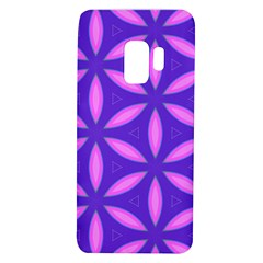 Pattern Texture Backgrounds Purple Samsung Galaxy S9 TPU UV Case