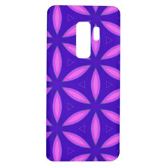 Pattern Texture Backgrounds Purple Samsung Galaxy S9 Plus TPU UV Case