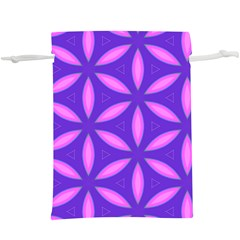Pattern Texture Backgrounds Purple  Lightweight Drawstring Pouch (xl) by HermanTelo