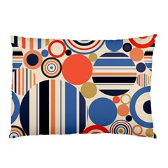Geometric Abstract Pattern Colorful Flat Circles Decoration Pillow Case