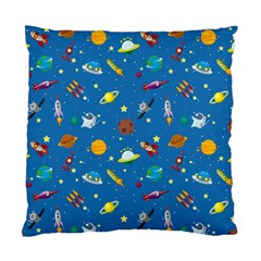 Space Rocket Solar System Pattern Standard Cushion Case (one Side) by Vaneshart