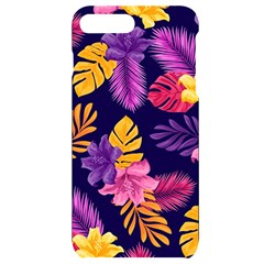 Tropical Pattern Iphone 7/8 Plus Black Uv Print Case by Vaneshart