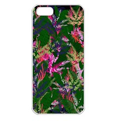 Vibrant Tropical Iphone 5 Seamless Case (white)