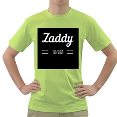 Zaddy Green T-shirt by egyptianhype