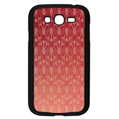 Red Gold Art Decor Samsung Galaxy Grand Duos I9082 Case (black)