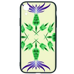 Thistle Flower Purple Thorny Flora Iphone Xr Soft Bumper Uv Case