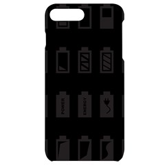 Battery Icons Charge Iphone 7/8 Plus Black Uv Print Case
