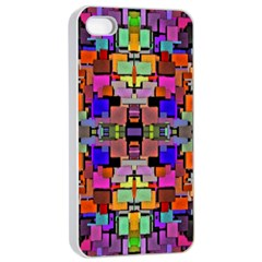 Abstract A 4 Iphone 4/4s Seamless Case (white)