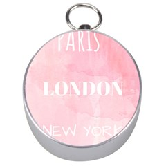 Paris Silver Compasses by Lullaby