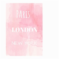 Paris, London, New York Small Garden Flag (two Sides) by Lullaby