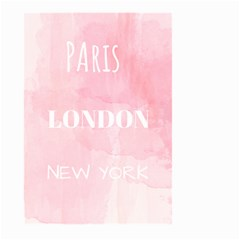 Paris, London, New York Large Garden Flag (two Sides) by Lullaby