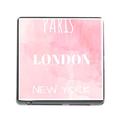Paris, London, New York Memory Card Reader (square 5 Slot) by Lullaby
