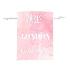 Paris, London, New York Lightweight Drawstring Pouch (s)