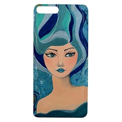Blue Girl Apple Iphone 7/8 Plus Tpu Uv Case by CKArtCreations