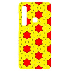 Pattern Red Star Texture Star Samsung A9 Black Uv Print Case