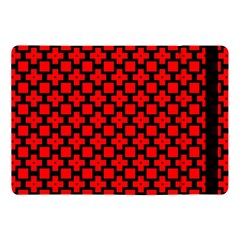 Pattern Red Black Texture Cross Apple Ipad 9 7 by Simbadda