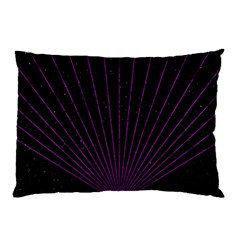 Laser Show Festival Pillow Case (two Sides)
