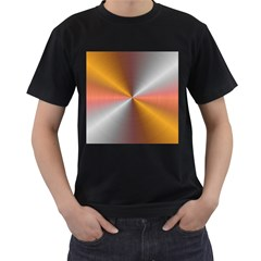 Abstract Easy Shining Men s T Shirt (black)