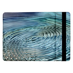 Wave Concentric Waves Circles Water Samsung Galaxy Tab Pro 12 2  Flip Case