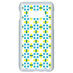 Pattern Texture Seamless Samsung Galaxy S10e Seamless Case (white) by Simbadda