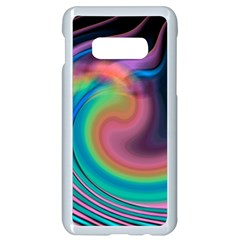 Abstract Art Abstract Background Samsung Galaxy S10e Seamless Case (white) by Simbadda