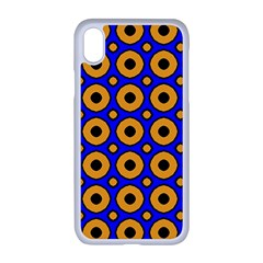 Pattern Circle Seamless Texture Iphone Xr Seamless Case (white) by Simbadda