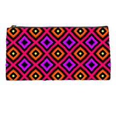 Squares Modern Backgrounds Texture Pencil Cases
