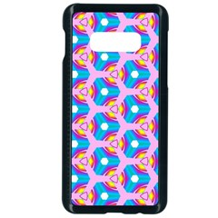 Background Pattern Backgrounds Samsung Galaxy S10e Seamless Case (black) by Simbadda