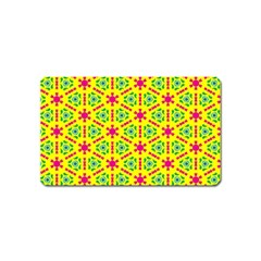 Pattern Texture Seamless Modern Magnet (name Card)