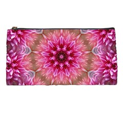 Flower Mandala Art Pink Abstract Pencil Cases