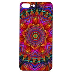 Kaleidoscope Pattern Ornament Iphone 7/8 Plus Soft Bumper Uv Case by Simbadda