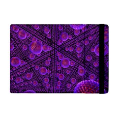 Spheres Combs Structure Regulation Apple Ipad Mini Flip Case by Simbadda